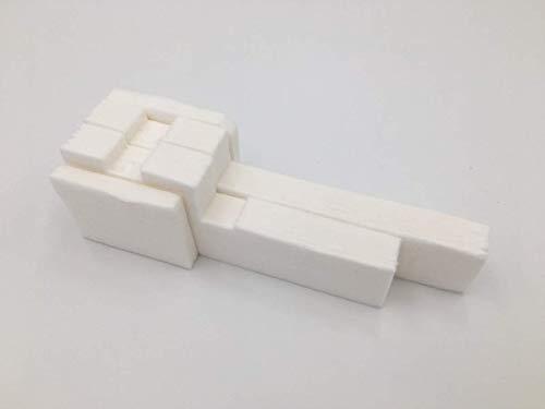 JRUIAN Nuevo 2 Juegos de Esponja de Almohadilla de Tanque de Tinta Residual Original para Epson L110 L210 L220 L300 L301 L303 L310 L350 L351 L353 L358 L355 L365 ME303 ME401