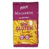 Felicia - Penne - Macarrones Hechos de Harina de Maíz, Arroz y Quinoa - Sin Gluten - 500 Gramos