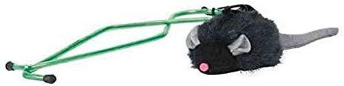 Trixie 4546 Squieky-Maus für Türrahmen, 7 cm/135 cm