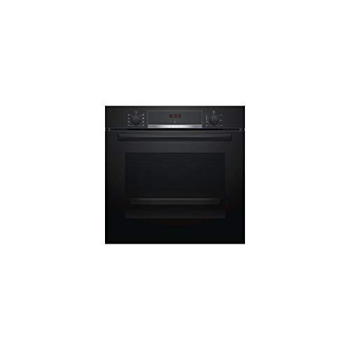 Four encastrable EcoClean Bosch HBA553BA0 - Four multifonction Chaleur tournante ou pulsée / 71 litres / Classe A / Noir / Porte tempérée (3 vitres)