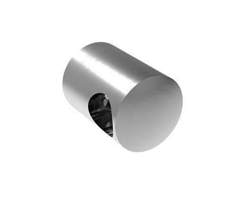 Anschluss /Ø42,4 mm, Sackloch rechts /Ø12,2 mm Edelstahl Querstabhalter Traversenhalter Reling Gel/änder Relinggel/änder V2A /…