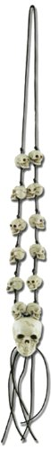 Skull Necklace Party Accessory (1 count) (1/Card)