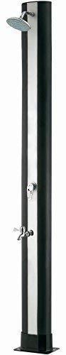well2wellness® PVC Solardusche Gartendusche 'Premium' 40 Liter Plus Fußdusche (021999)