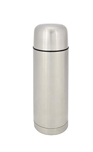 ORYX 5075010 Termo Liquidos, Capacidad De 750 ML. Libre BPA, Acero Inoxidable, Antigoteo, plateado
