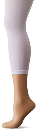 KUNERT Damen 3/4 Leggings Velvet, 40 Den, Weiß (White 0010), 42/44