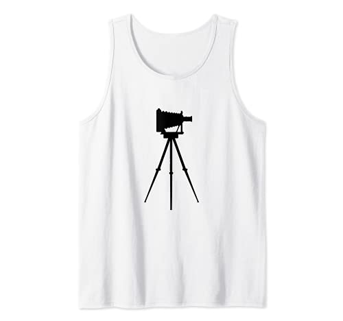 Fotógrafo de cámara antigua Camiseta sin Mangas