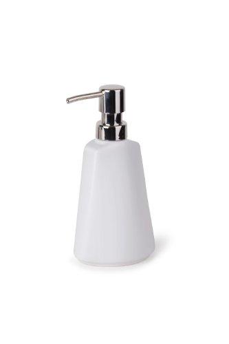 Umbra 023844-660 - Dispensador de loción y de jabón, cerámica, color blanco