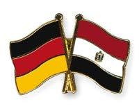 Duitsland Egypte vriendschapspin vlaggen pin