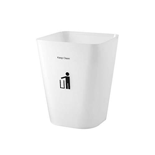 Vokmon Home Küche Abfalleimer Badezimmer Schlafzimmer Kunststoff Trash Papierkorb Bin Box Eimer