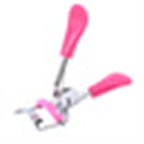 xinyawl Recourbe-Cils, 1 PC Peigne Coiffeur Cuvette de Cils Curieux Pliant Faux Cils auxiliaires Cils curlash Clip Petits Outils de Maquillage (Color : Rose Red)