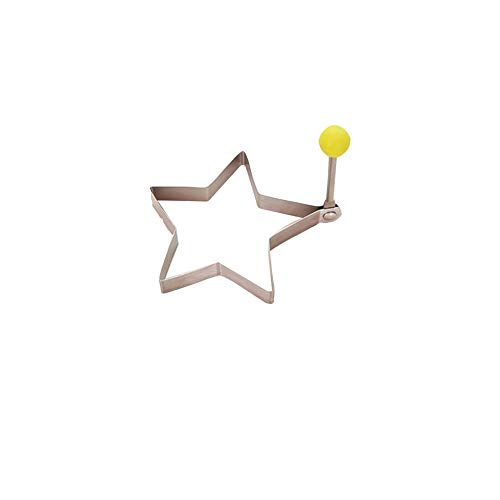 FYstar Stampi per Uova Fritte in Acciaio Inossidabile Creativo Omelette Shaper Pancake Utensili da Cucina Cucina Anello Shaper