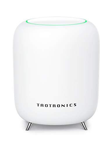 TaoTronics Mesh WLAN Set Tri-Band AC3000 Mesh-WLAN-System Heimnetz-Komplettlösung mit 3000 MBit/s, WiFi Mesh Router bis zu 230m² Abdeckung & 200 Geräten, 4X Gigabit Ports & 1 USB 3.0 Ports