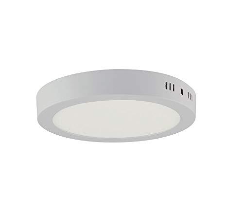 18w LED Aufputz Aufbau Panel Aufbaulampe Deckenleuchte Aufbauleuchte Rund Ø 22 cm Höhe 4 cm Kaltweiss
