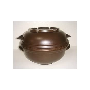 電子レンジ専用調理鍋/磁性鍋・L 4点(深鍋、浅鍋、中ぶた、スノコ)セット