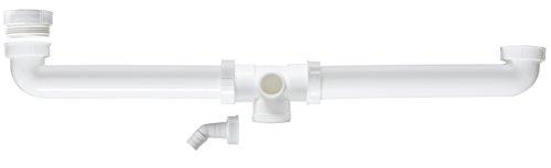 Cornat T353910 Spültisch-Ablaufverbindung, 1 1/2 Zoll, zentriert