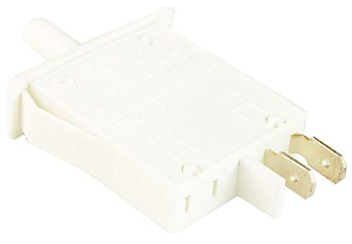 SPARES2GO Interruptor de luz de botón para puerta para nevera Indesit