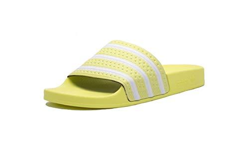 Adidas Adiletten - Chanclas de baño, color Amarillo, talla 38 EU
