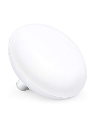 Light Therapy Lamp, TaoTronics UV-Free LED Sun Lamp with 3 Adjustable Brightness, Memory Function & Compact Size