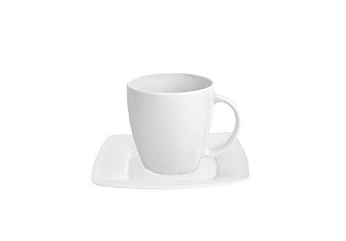 VAN WELL 2tlg. Set Kaffeetasse mit Untertasse Classico