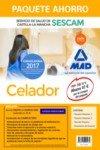 Paquete Ahorro Celador del Servicio de Salud de Castilla-La Mancha (SESCAM). Ahorra 47 € (incluye Temario volúmenes 1 y 2; Test; Simulacro de examen y acceso Campus Oro)