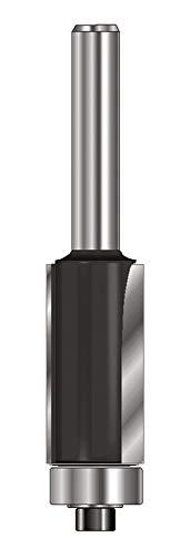 ENT 13583 Bündigfräser HW (HM), Schaft (C) 8 mm, Durchmesser (A) 12,7 mm, B 25,4 mm, D 32 mm, GL 68 mm, mit Kugellager