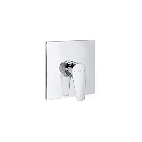 Mezclador grifo monomando empotrable para baño o ducha, serie Atlas, 21,5 x 6,5 x 14 centímetros, color cromado (Referencia: A5A2B90C00)
