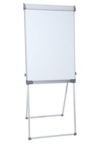 Dahle 96011 Professional Flip-Chart (Schreibfläche: 105 x 68 cm, Aufstellhöhe 195 cm, höhenverstellbar, mit Ablagefach, magnetisch)