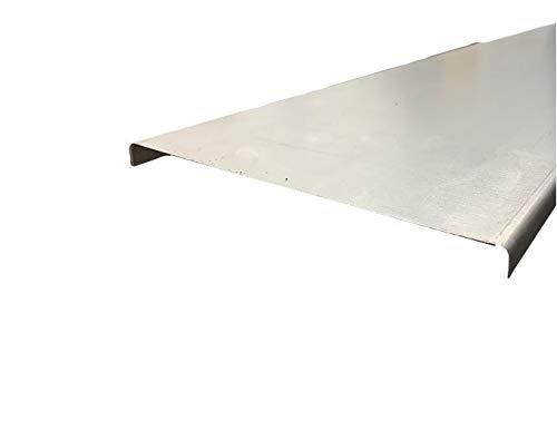 IPOS Kabelrinne Kabelkanal Zubehör Kabeltrasse Verzinkt Metallkanal Kabelpritsche (Deckel 100 x 60 mm)