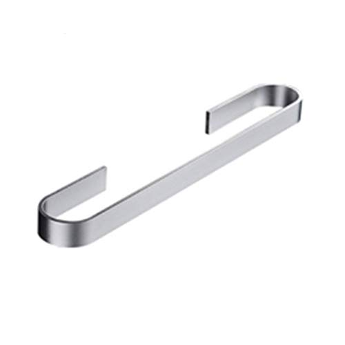 Fablcrew Barre de Serviette Aluminium Barre Porte-serviettes Auto-adhésif Porte-serviette Support Mural pour Cuisine ou Salle de Bains