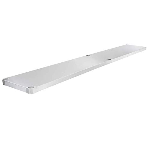 Max 88% OFF Adjustable Stainless Ranking TOP5 Steel Work Table Undershelf for x T 84