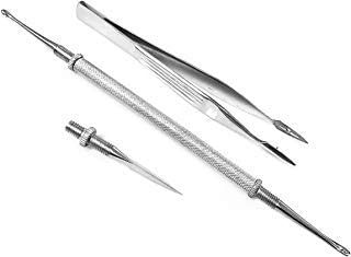 Splinter Removal Kit - 3 Aid Steel Be super Milwaukee Mall welcome Piece First Stainless