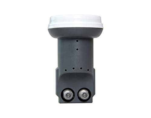 EDISION LNB TL-2 TWIN SE, One Satellite to Two receivers, Full HD, HDTV, Black, 03-01-0009