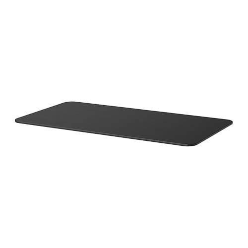 BEKANT ベカント テーブルトップ, ブラックステインアッシュ材突き板 403.663.04