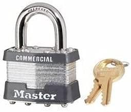Master Lock 470-1KA-2001 Laminated Padlocks Keyed Alike Key Code 2001, 5/16