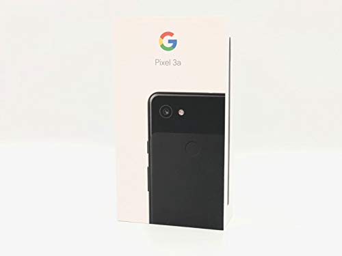 国内版SIMフリー Google Pixel 3a 64GB Just Black