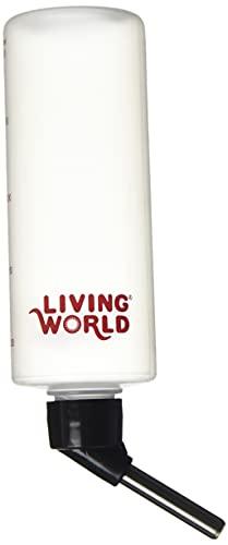 Living World Hamster Bottle, 8-Ounce, with hanger