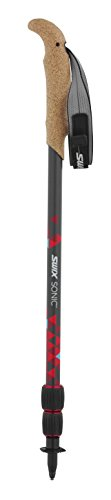 Swix Sonic Mountain Pro Bâtons de randonnée en Carbone Noir 56 cm-140 cm