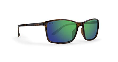 EPOCH 11 - Gafas de sol con espejo, color verde