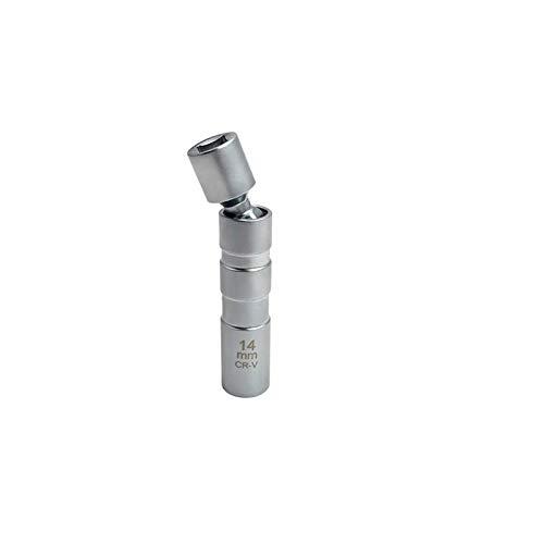 SSXPNJALQ Herramienta de eliminación de zócalo de Enchufe de Enchufe de Enchufe de Pared magnética de 14 o 16 mm Conjunta 12pt 95mm Longitud (Color : 14mm)
