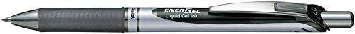Pentel BL77-AO EnerGel Długopis Żelowy, Końcówka: 0,35mm, Do Wielokrotnego Napełniania, 1 Sztuka, Czarny