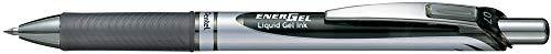 Pentel BL77-AO EnerGel Gel-Tintenroller mit Druckmechanik, 0,7 mm Kugeldurchmesser = 0,35 mm Strichstärke, nachfüllbar, 1 Stück, schwarz