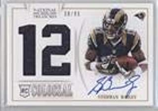 Stedman Bailey #30/99 (Football Card) 2013 Panini National Treasures - Rookie Colossal Materials - Jersey Number Signatures [Autographed] #33