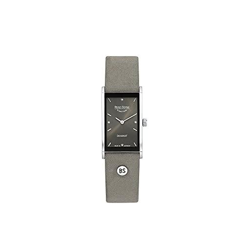 Bruno Söhnle Damen Analog Quarz Uhr mit Leder Armband 17-83099-891