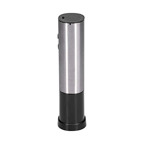 Abridor de Vino eléctrico, abridor de sacacorchos eléctrico automático para Botellas de Vino con Cortador de Papel de Aluminio Botón de un Clic Abridor de Botellas de Vino Reutilizable