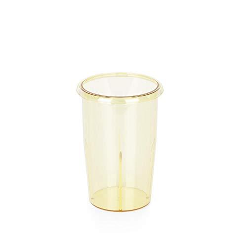 Klarstein Pro Kraftprotz Kunststoffbecher, Zubehör, Ersatz, Kapazität: 0,9 Liter, Mixbecher, PVC, gelb