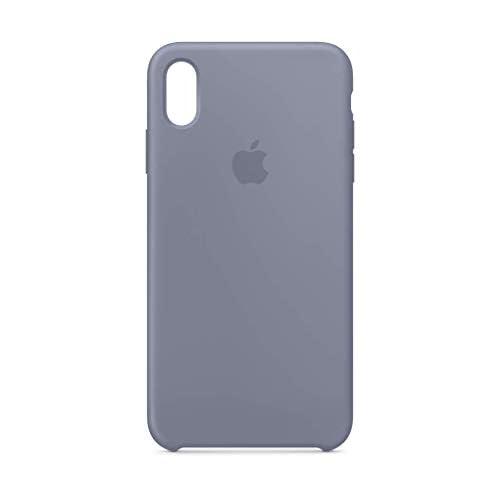 Apple Custodia in silicone (per iPhoneXSMax) - Grigio lavanda