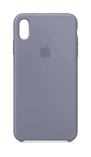 Apple Silicone Case (for iPhone Xs Max) - Lavender Grey