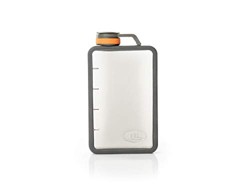 GSI OUTDOORS Boulder Flask Thermos pour adulte Unisexe Transparent 10 oz