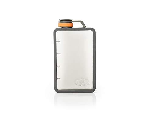 GSI OUTDOORS Boulder Flask Thermoskanne für Erwachsene, Unisex, transparent (transparent), 10 OZ