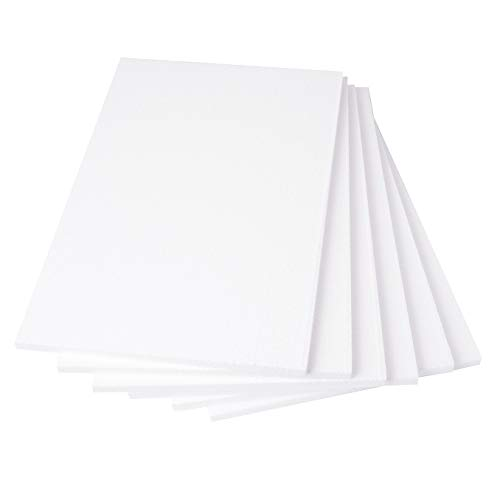 Best Price! Silverlake Craft Foam Block - 6 Pack of 11x17x0.5 EPS Polystyrene Sheets for Crafting, M...